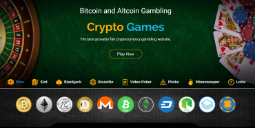 CryptoGames: A haven for the ardent gambler!