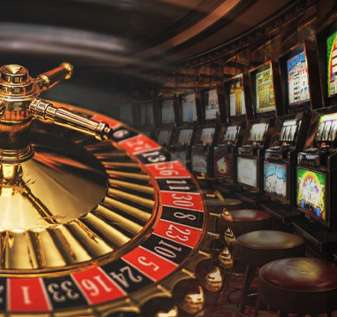 Roda Roulette dan Deretan Mesin Slot