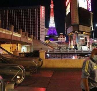 Beginilah tampilan perjudian di Las Vegas setelah pembukaan kembali COVID-19