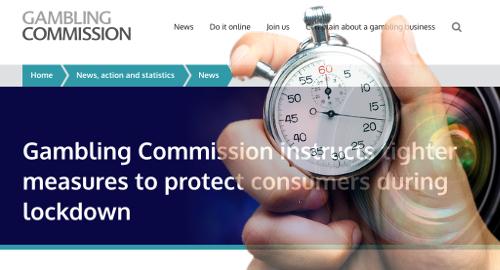 Operasi judi online di Inggris menghadapi lebih banyak lagi pembatasan pandemi