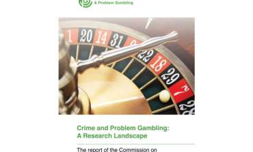 Commission on Crime and Problem Gambling publishes literature review