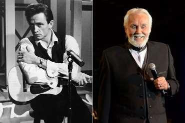 Ingat Ketika Johnny Cash Mencatat 'The Gambler' Kenny Rogers?