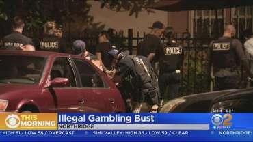 Setidaknya Satu Lusin Ditahan Setelah Pertaruhan Judi Di Northridge - KCAL9 dan CBS2 Berita, Olahraga, dan Cuaca