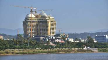This photo of the Kings Romans Casino in Laos
