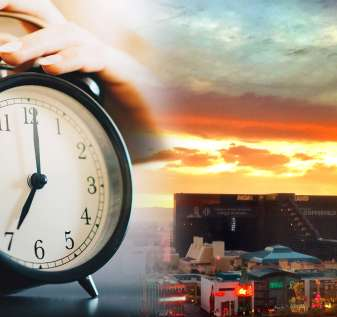 Jam Alarm dan Las Vegas Sunrise