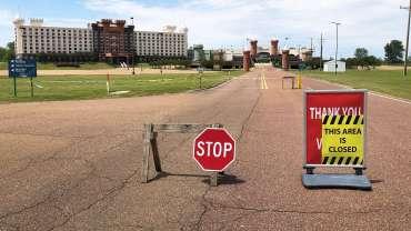 Kasino, penutupan ruang perjudian menghancurkan county Mississippi