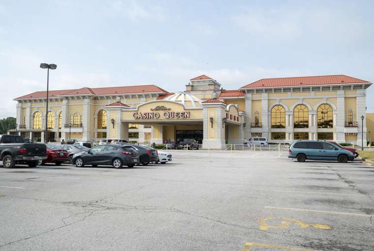The Casino Queen in East St. Louis reopened to gamblers on July 1. Casinos in Illinois had been shut down since the middle of March becuase of the coronavirus.