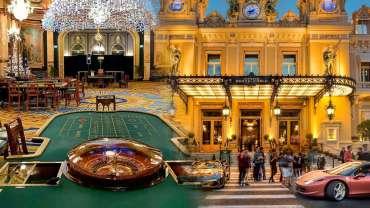 Gambar Eksterior dan Interior Casino Monte Carlo di Monaco